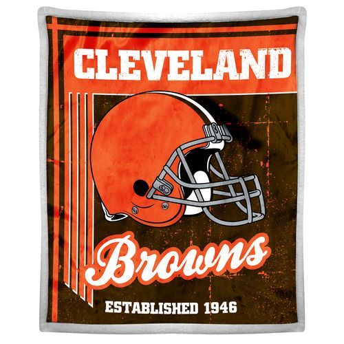 The Northwest Company Cleveland Browns Old School Mink