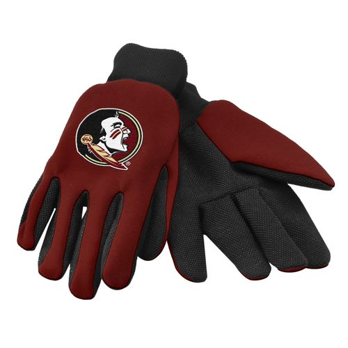 Team Beans Adults' Florida State University 2-Color Utility Gloves