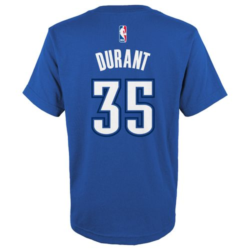 NBA Boys' Oklahoma City Thunder Kevin Durant Flat Player T-shirt