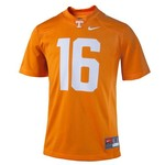 Nike Boys' University of Tennessee #16 Replica Football Jersey