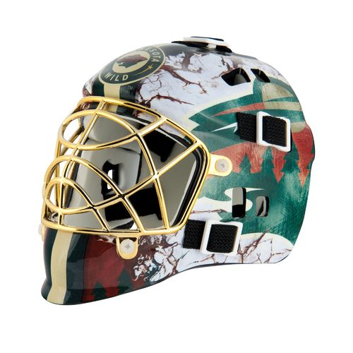 Franklin NHL Team Series Minnesota Wild Mini Goalie Mask - view number 1