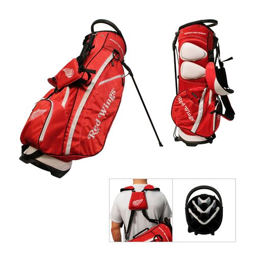Team Golf Detroit Red Wings Fairway 14-Way Golf Stand Bag