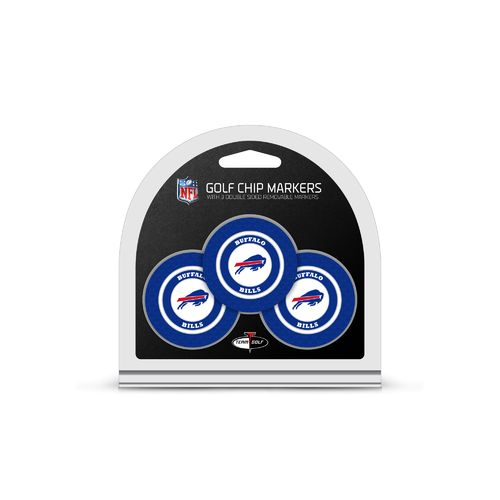 Team Golf Buffalo Bills Poker Chip and Golf Ball Marker Set