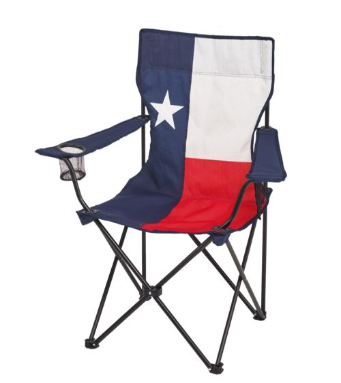 Academy Sports Outdoors Logo Texas Flag Folding Arm