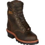Chippewa Boots Men's Bay Apache Logger Steel Toe Rugged Outdoor Boots - view number 2