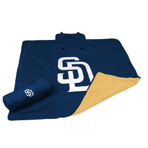 Logo™ San Diego Padres All-Weather Blanket