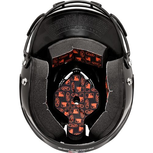 Rawlings Youth Coolflo Baseball Helmet With Face Guard - view number 2