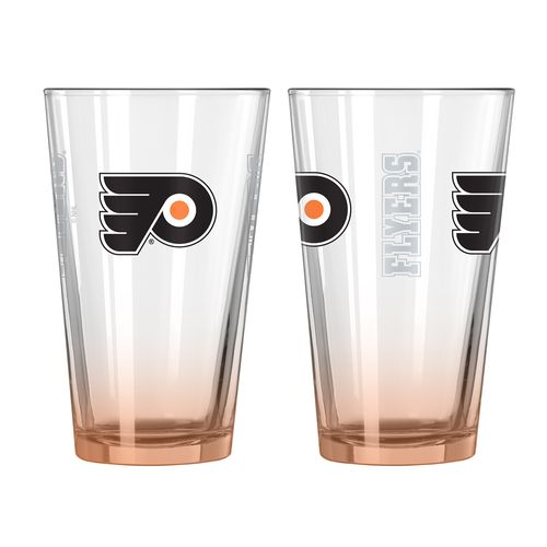 Boelter Brands Philadelphia Flyers Elite 16 oz. Pint Glasses 2-Pack