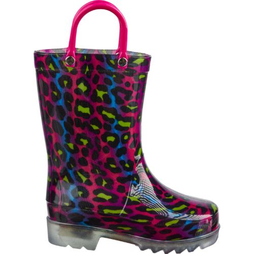 Austin Trading Co.™ Girls' Ombré Cheetah Light-Up Boots