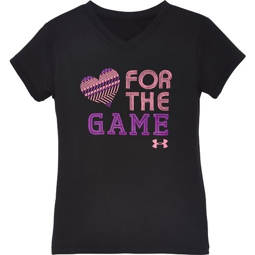 Under Armour Girls 39 Love For The Game T Shirt Academy