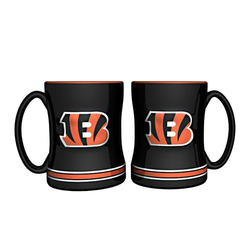 Boelter Brands Cincinnati Bengals 14 oz. Relief Mugs 2-Pack - view number 1