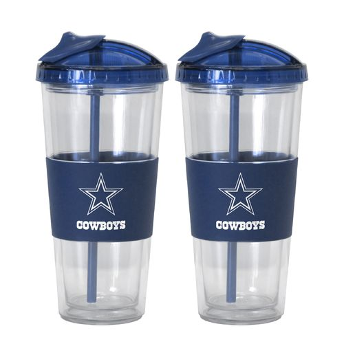 Boelter Brands Dallas Cowboys 22 oz. No-Spill Straw