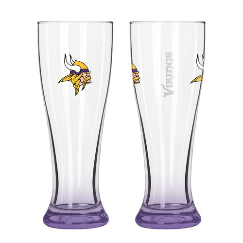 Boelter Brands Minnesota Vikings Elite 16 oz. Pilsners 2-Pack