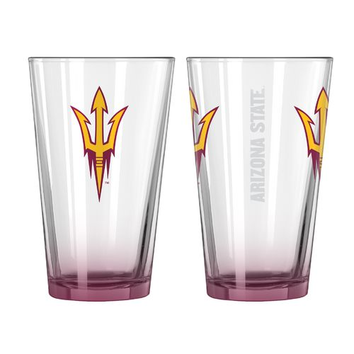Boelter Brands Arizona State University Elite 16 oz. Pint Glasses 2-Pack