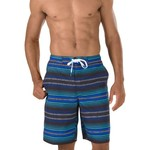 Speedo Men's Straight Away Stripe E-Boardshort