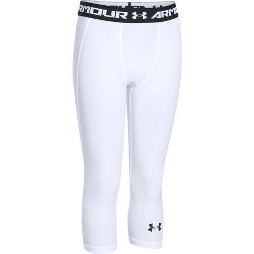 Under Armour™ Boys' Armour® Up Fadeaway Fitted 3/4 Legging