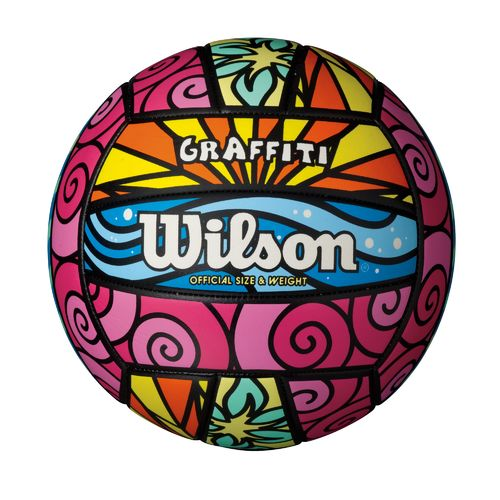 Display product reviews for Wilson Adult Graffiti™ Outdoor Volleyball