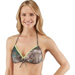Realtree Juniors' Xtra® Green Push Up Demi Triangle Swim Top