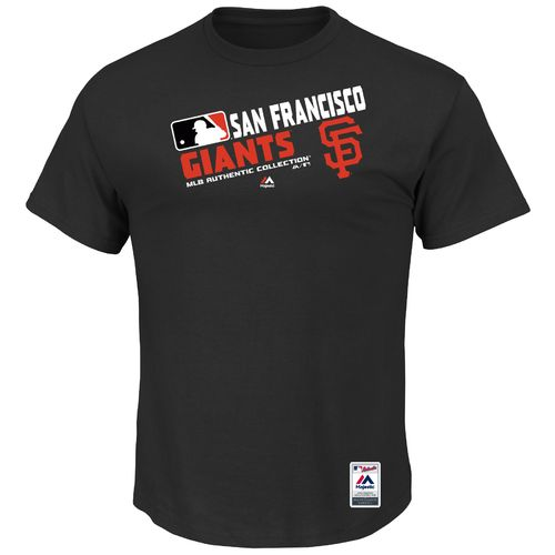 Majestic Men's San Francisco Giants On Field Team Choice T-shirt