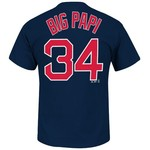 Majestic Men's Boston Red Sox David Ortiz #34 T-shirt