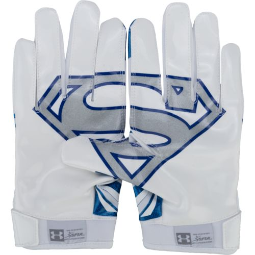 Under Armour Adults' Alter Ego Superman Football Gloves