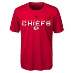 NFL Boys' Kansas City Chiefs Dri-Tek Maximal T-shirt - view number 1