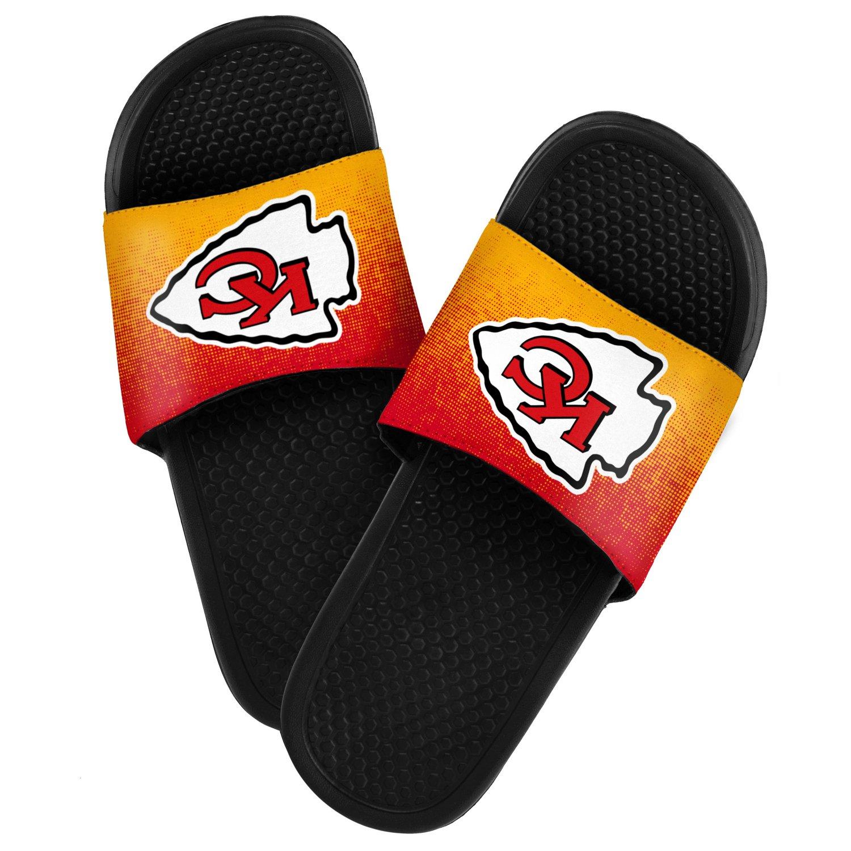 Forever Collectibles™ Men's Kansas City Chiefs Textured Sport Slides