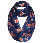 Forever Collectibles™ Men's Houston Astros Team Logo Infinity Scarf