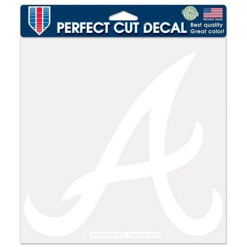 WinCraft Atlanta Braves Perfect Cut Decal