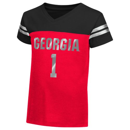 Colosseum Athletics™ Toddler Girls' University of Georgia Nickle T-shirt