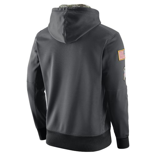 Nike Men's Tampa Bay Buccaneers Salute To Service Player Fleece Pullover Hoodie - view number 2