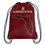 Forever Collectibles™ Florida State University Drawstring Backpack