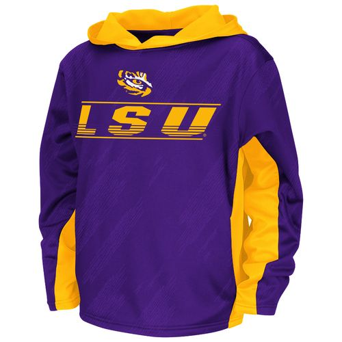 Colosseum Athletics™ Juniors' Louisiana State University Sleet Pullover Hoodie