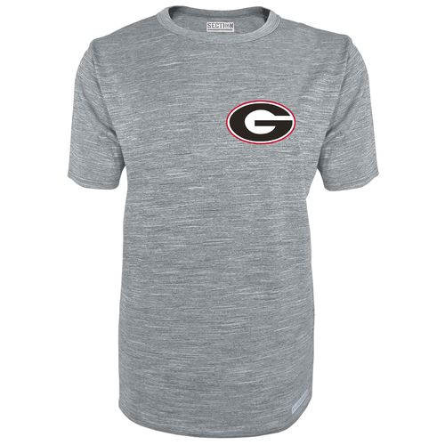 Majestic Men's University of Georgia Section 101 Without Walls T-shirt