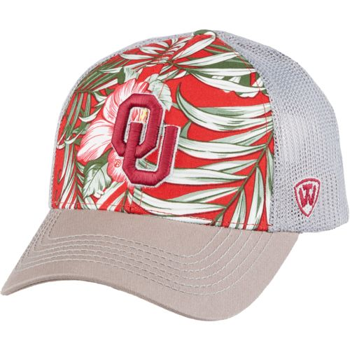 Top of the World Men's University of Oklahoma Ocean Front Adjustable Cap