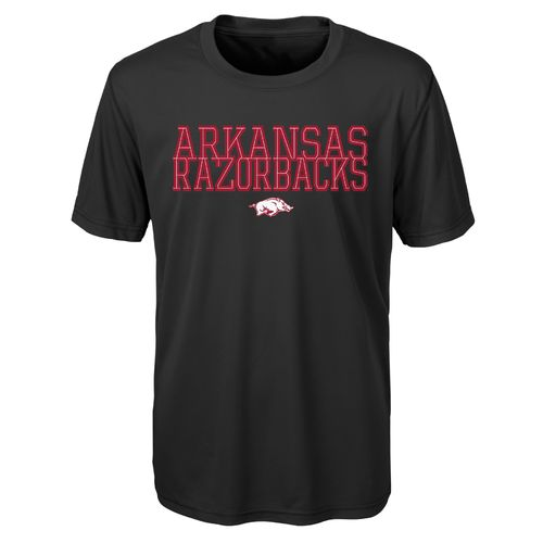 Gen2 Toddlers' University of Arkansas Overlap Poly T-shirt