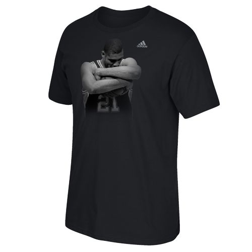 adidas Men's San Antonio Spurs Tim Duncan Embrace T-shirt