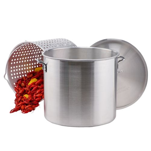 Outdoor Gourmet 80 qt. Aluminum Pot with Strainer - view number 3