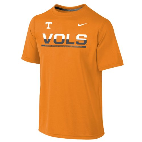 Nike™ Boys' University of Tennessee Dri-FIT Legend T-shirt