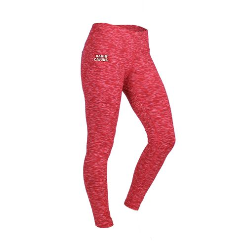 ZooZatz Women's University of Louisiana at Lafayette Space Dye Legging
