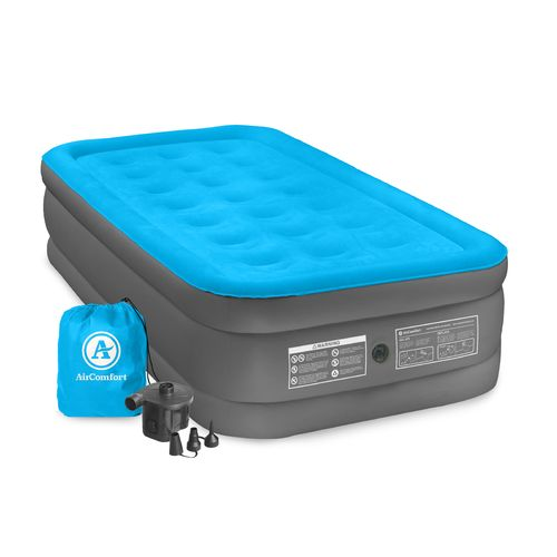 Air Comfort Camp Mate Raised Twin-Size Air Mattress with Battery-Powered Pump - view number 5