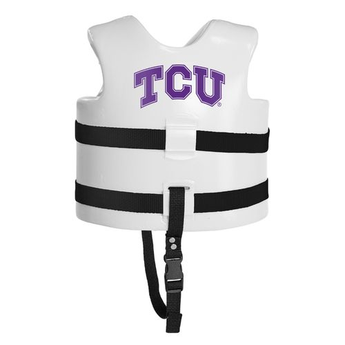 TRC Recreation Kids' Texas Christian University Super Soft™ Life Vest - view number 2