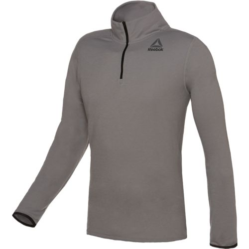 Reebok Men's Workout Ready Wool 1/4 Zip Pullover