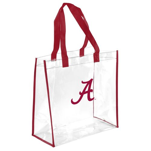 Display product reviews for Team Beans University of Alabama Clear Reusable Bag