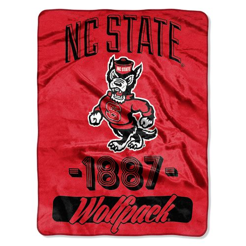 The Northwest Company North Carolina State University Varsity Micro Raschel Throw