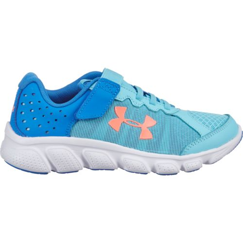 Under Armour Girls' Pre-School Assert 6 Running Shoes - view number 1