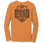 Image One Men's Oklahoma State University Finest Shield Comfort Color Long Sleeve T-shirt