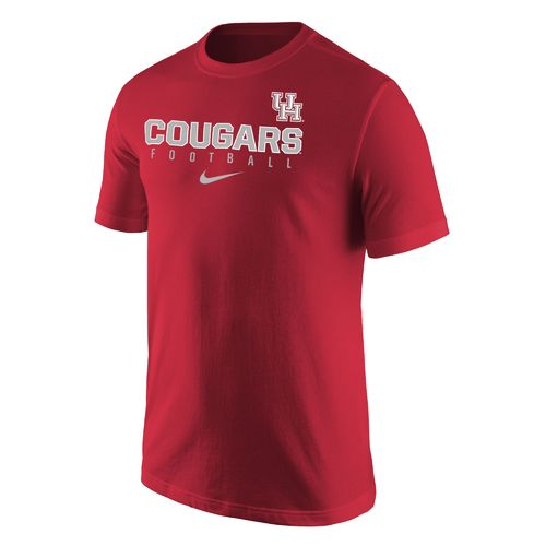 Nike Men's University of Houston Football Wordmark Core T-shirt