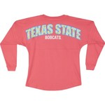 Boxercraft Women's Texas State University Pom Pom Jersey