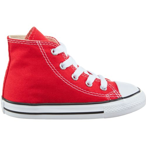 Display product reviews for Converse Toddler Boys' Chuck Taylor All Star Classic High-Top Shoes